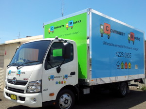 Community Movers Truck