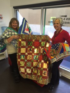 Quilters donation